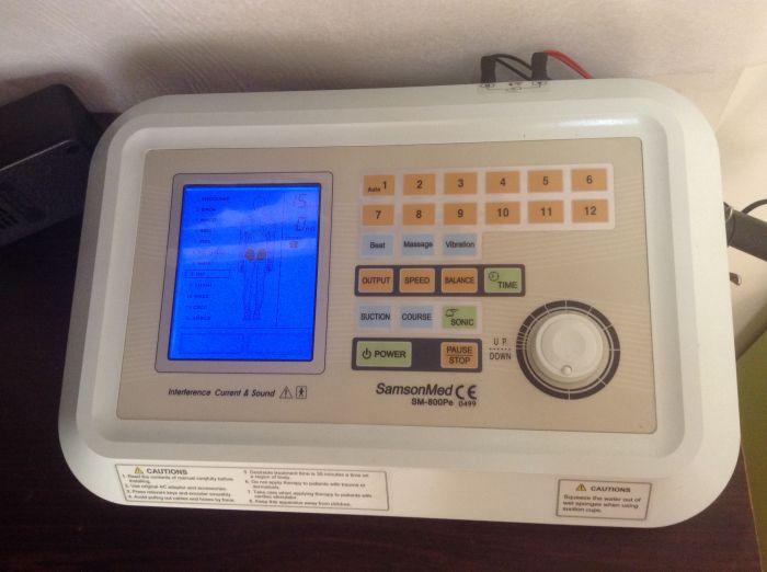 μηχάνημα ηλεκτροθεραπείας