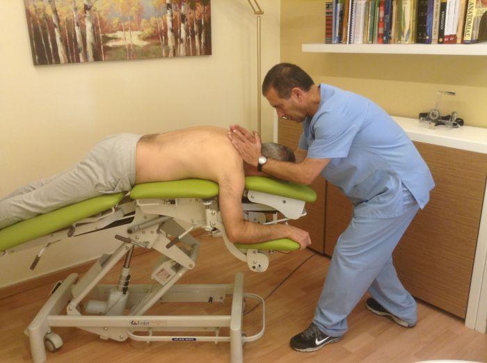 κρεβάτι κινητοποίησης σπονδυλικής στήλης